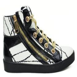 Black & White Melody Shoes