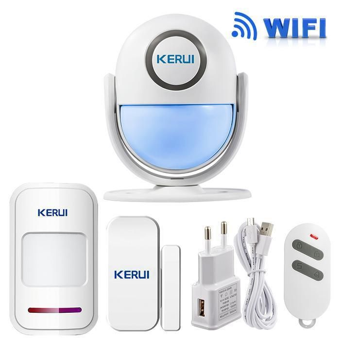 Kerui Wifi Home Security Alarm System Diy Kit In 2021 Home Security Alarm Home Security Alarm System Wireless Home Security Systems