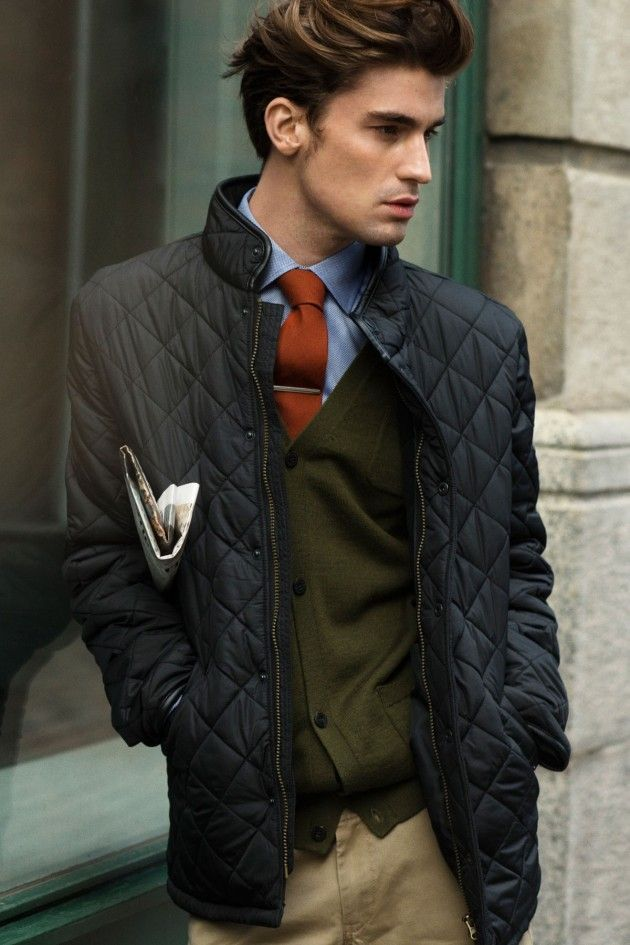 what to wear with quilted jacket