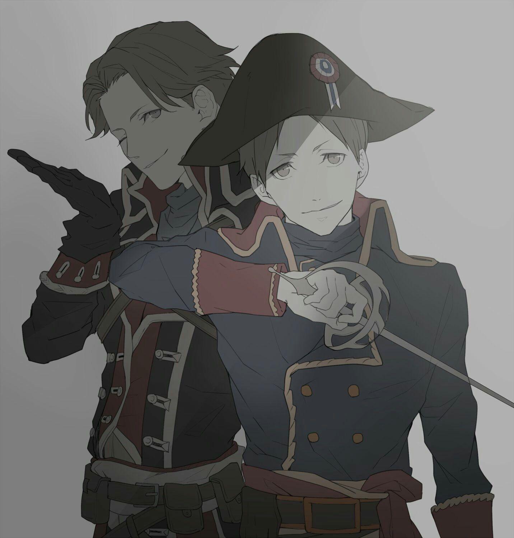 Amari and Hatano Joker Game キャラクターデザイン, アニメ, ジョーカー