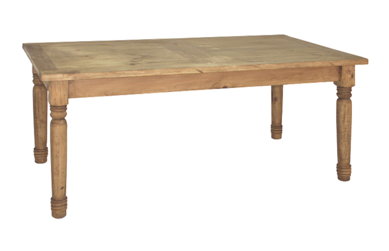 Dining Table 72 x 30 x 40 | Rustic mexican furniture ...