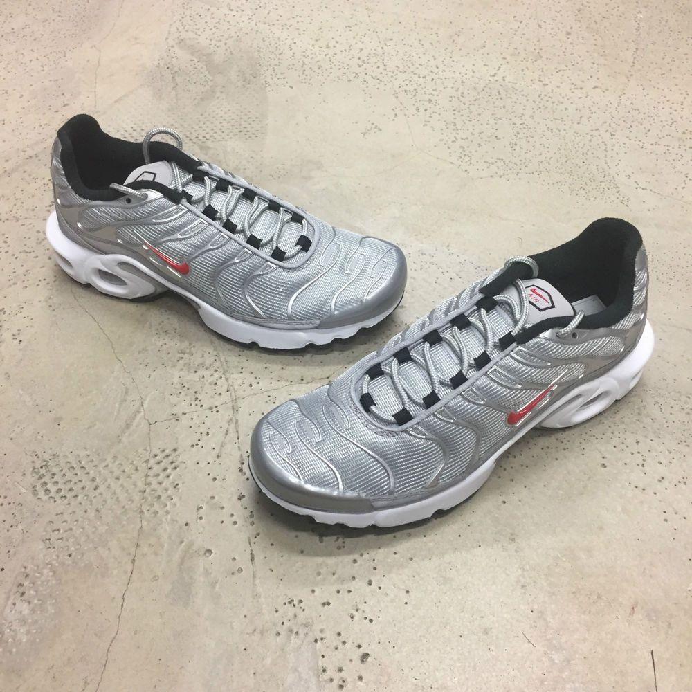Nike Air Max Plus Rt1 Bala De Plata 3 Sg 3 Plata 4 5 6 Soldout Sportslocker 6ad633