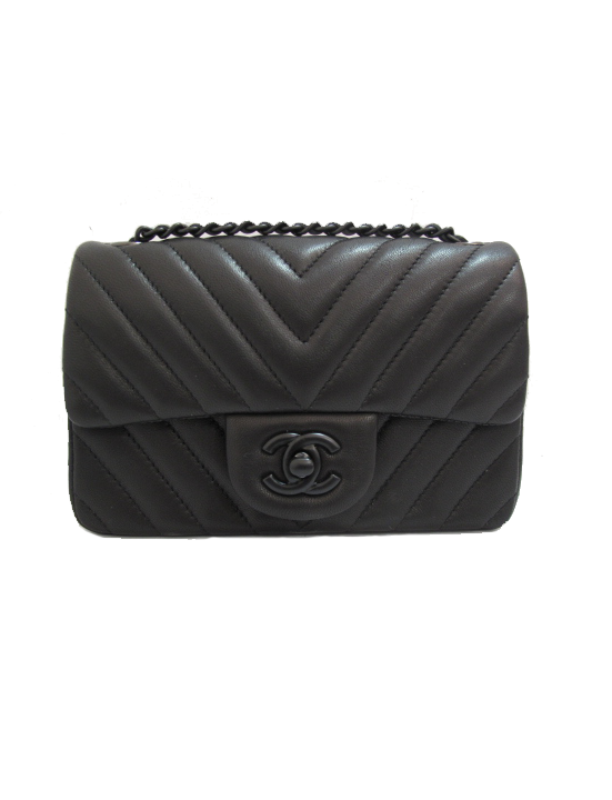 4f4a22ad6ba4 This is on my wish list, hopefully I can find it when I'm ready.....Chanel  So Black Chevron Mini Flap Bag