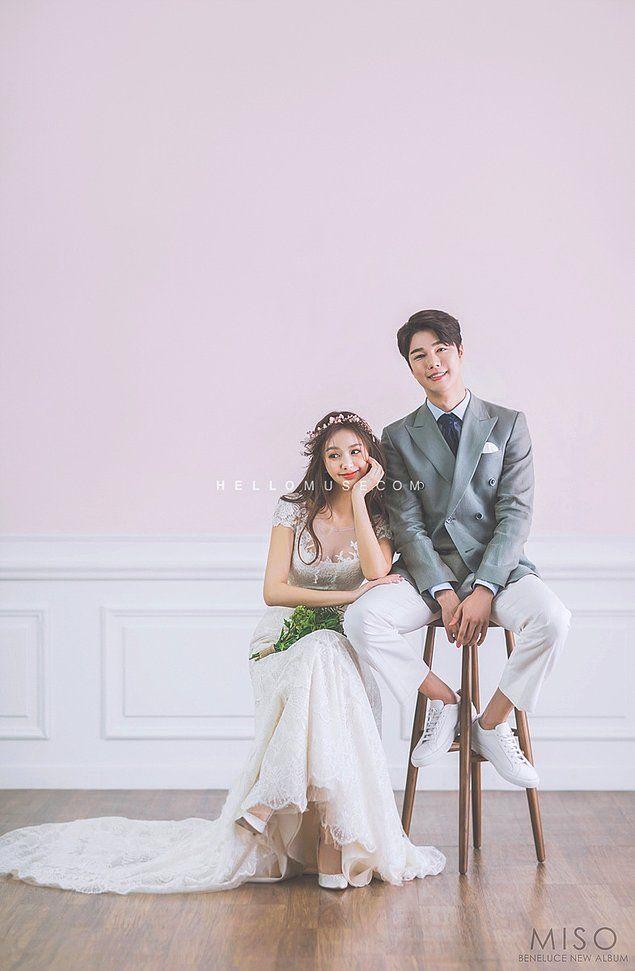Önümüzdeki Yaza Evlilik Planları Yaptıracak, Zarif ve Bir O Kadar da Doğal 37 Kore Düğün Fotoğrafı