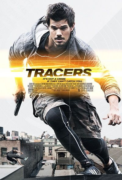 Takiptekiler - Tracers - 2014 - BDRip Film Afis Movie Poster
