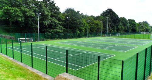 Just Pinned To Tennis Court Specifications Tennis Court Tennis Court Tennis Outdoor Adventure Gear