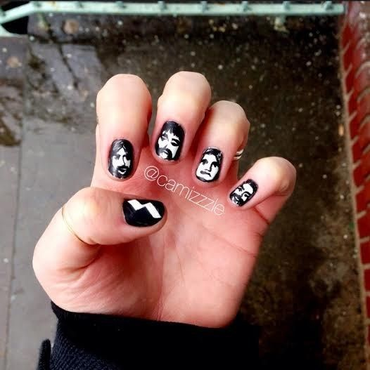 Community post 21 times music fans won the nail art game nail community post 21 times music fans won the nail art game prinsesfo Image collections