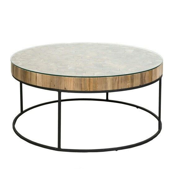 Four Square Ottoman Coffee Table