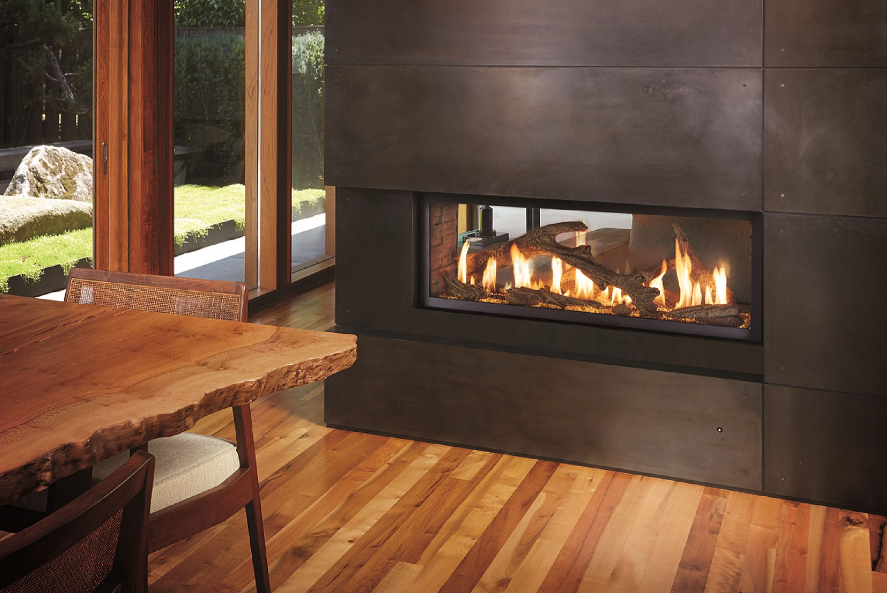 Effigy Of See Through Electric Fireplace Home Fireplace