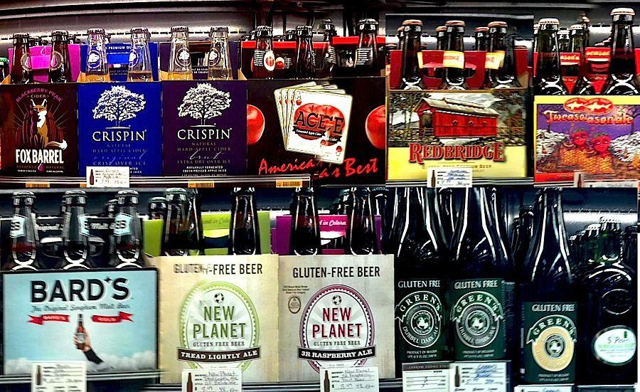 Beers Booze & Beverages Gluten Free Alcohol Cider