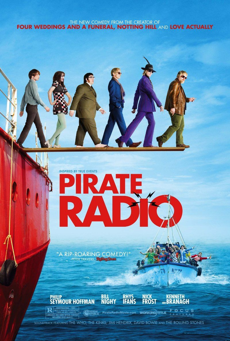 Pirate Radio (2009) Poster The boat that rocked, Good