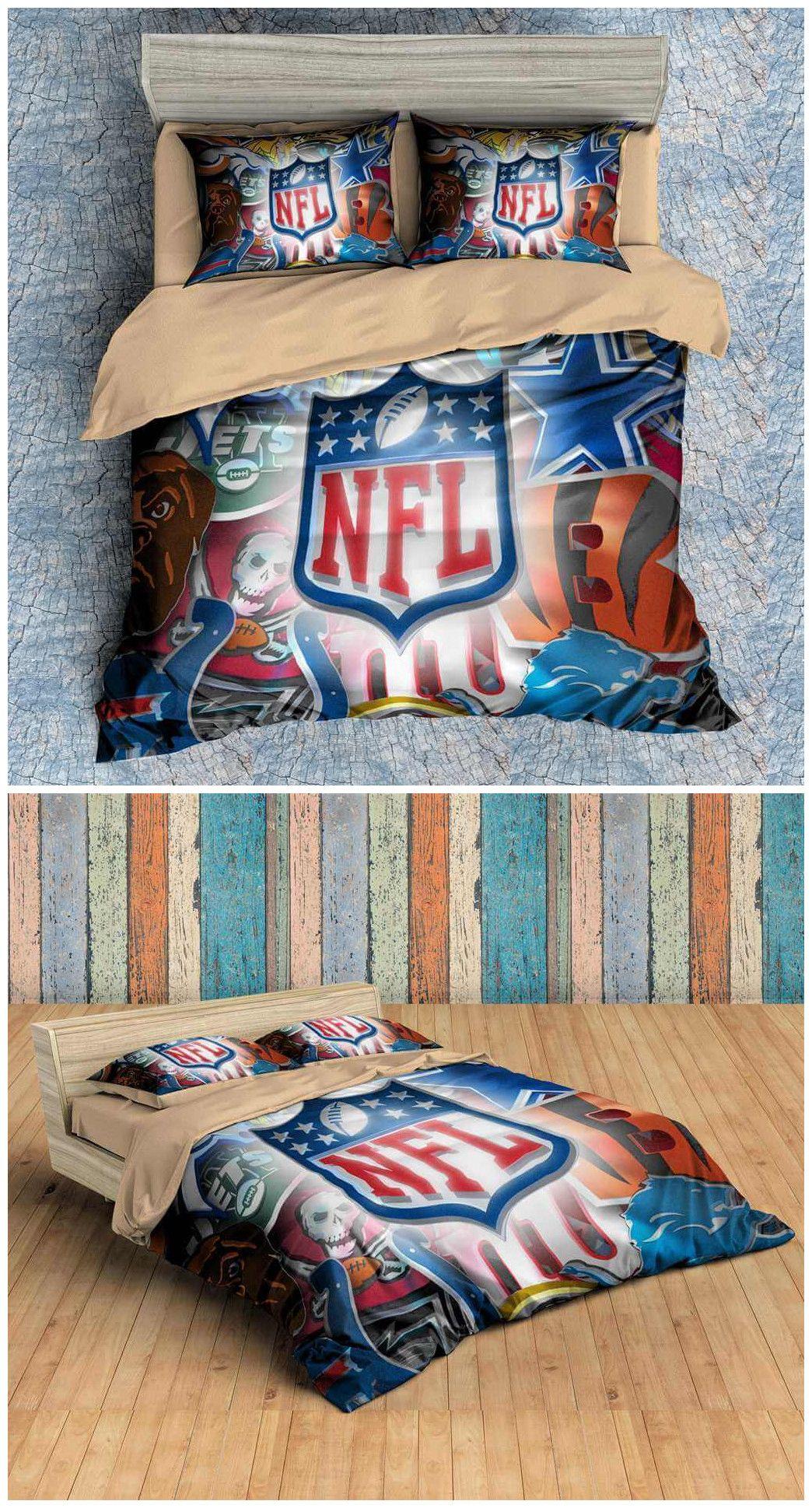 NFL Duvet Cover Set Comforter Cover, Duvet Cover Sets, Custom Bedding, Bedroom  Sets