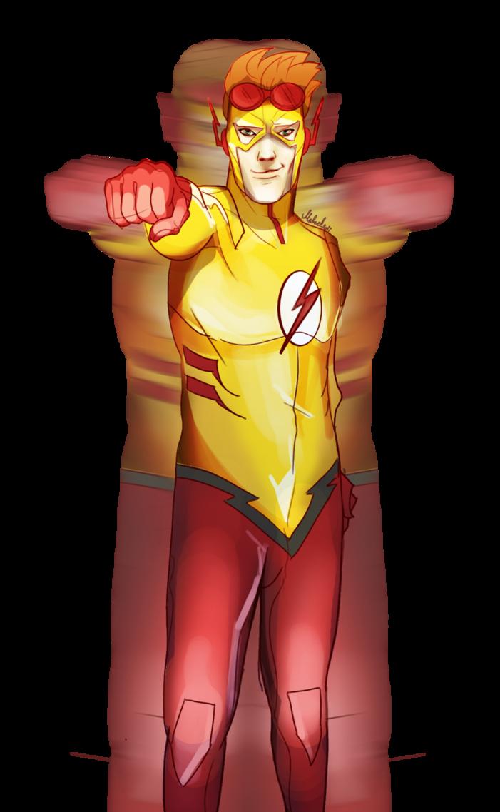 Kid Flash By Wafelland On Deviantart Kid Flash Flash Wallpaper Young Justice