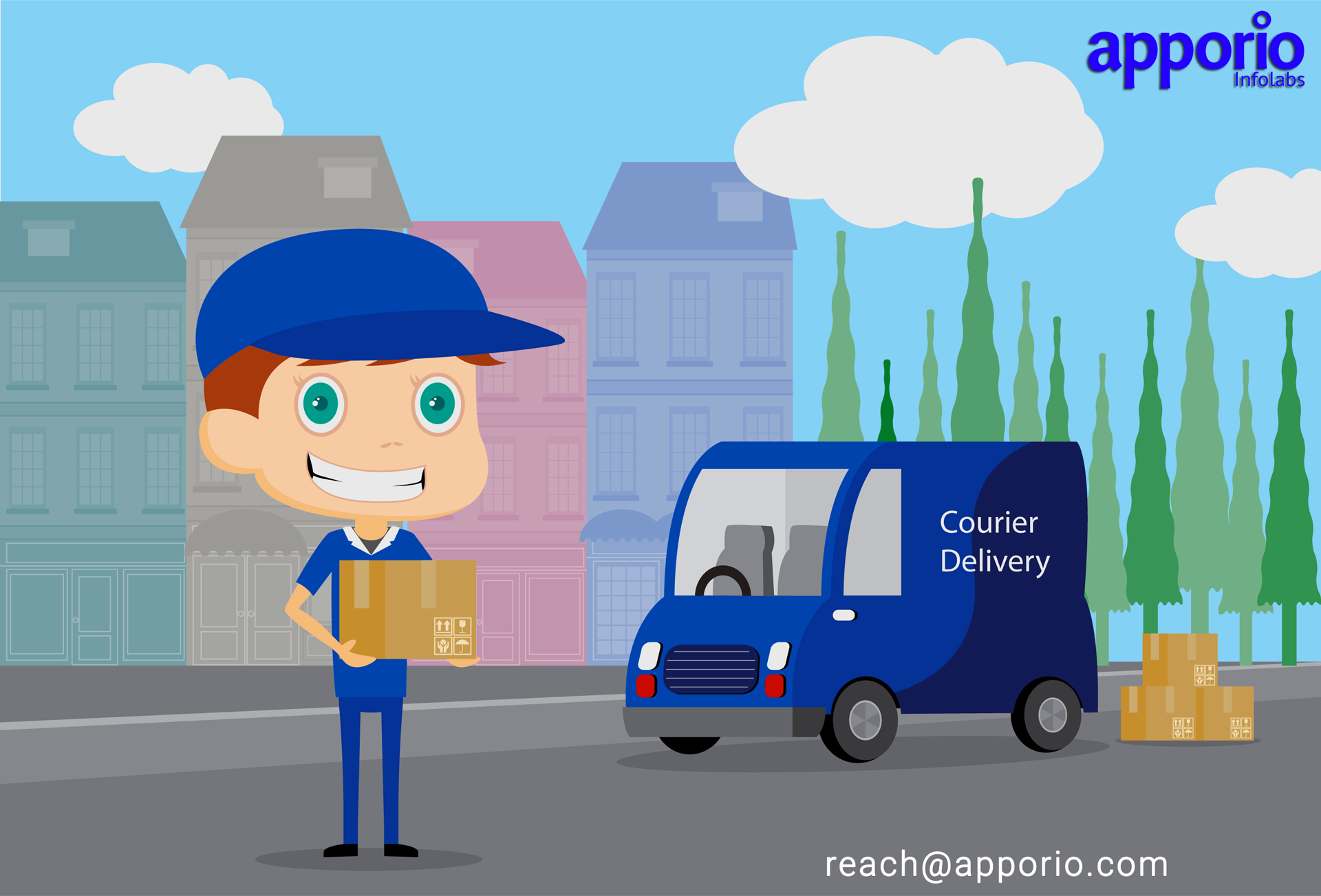 A beginners guide to courier delivery app development