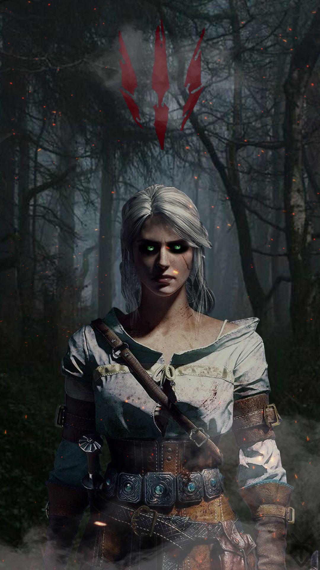 Ciri Riannon The Witcher Ciri Witcher Witcher Art Ciri witcher 3 hd games artwork