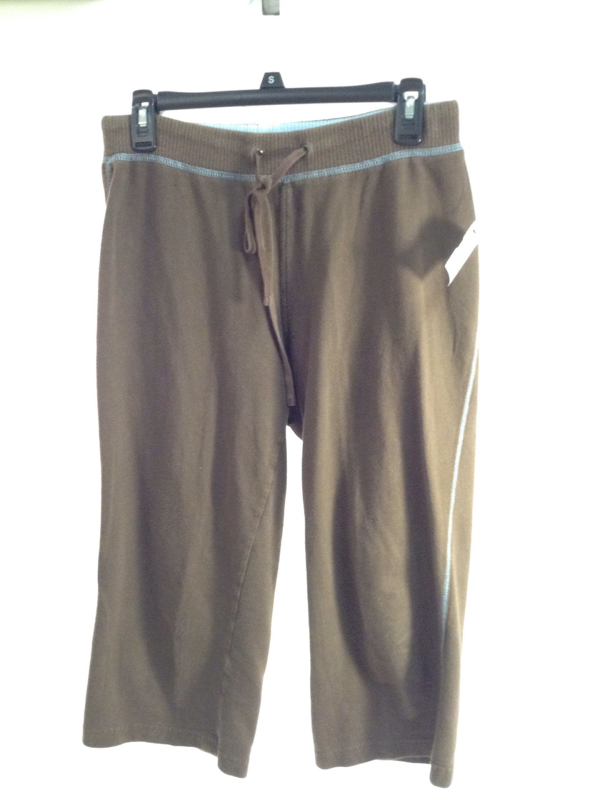 Brown Exercise Capris