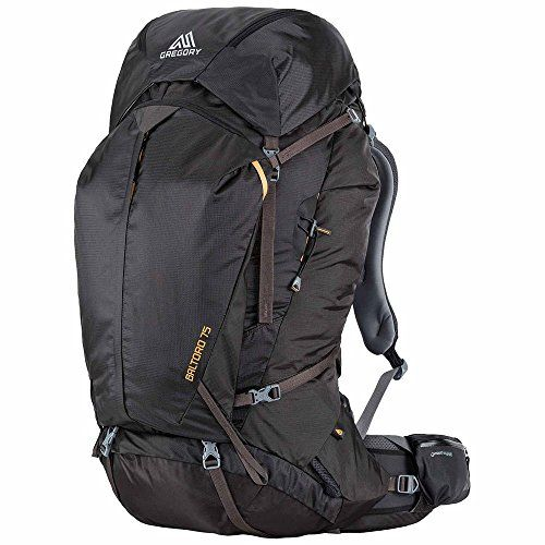 Gregory Mountain Products Mens Baltoro 75 Backpack Shadow Black ...