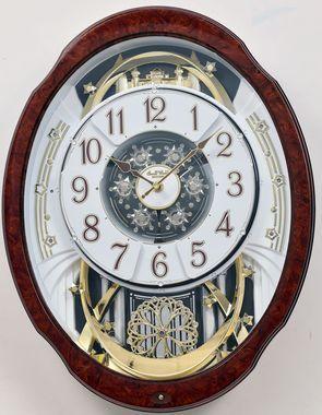 Rhythm Woodgrain Marvelous 4mh412wu23 Rhythm Clocks Clock Wall Clock