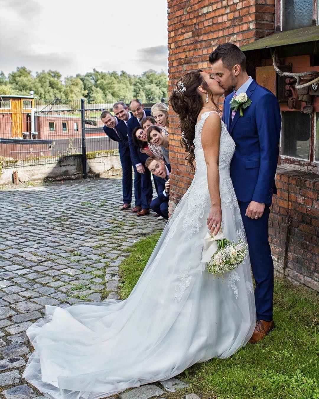50 originelle Hochzeitsfoto-Ideen für das Brautpaarshooting