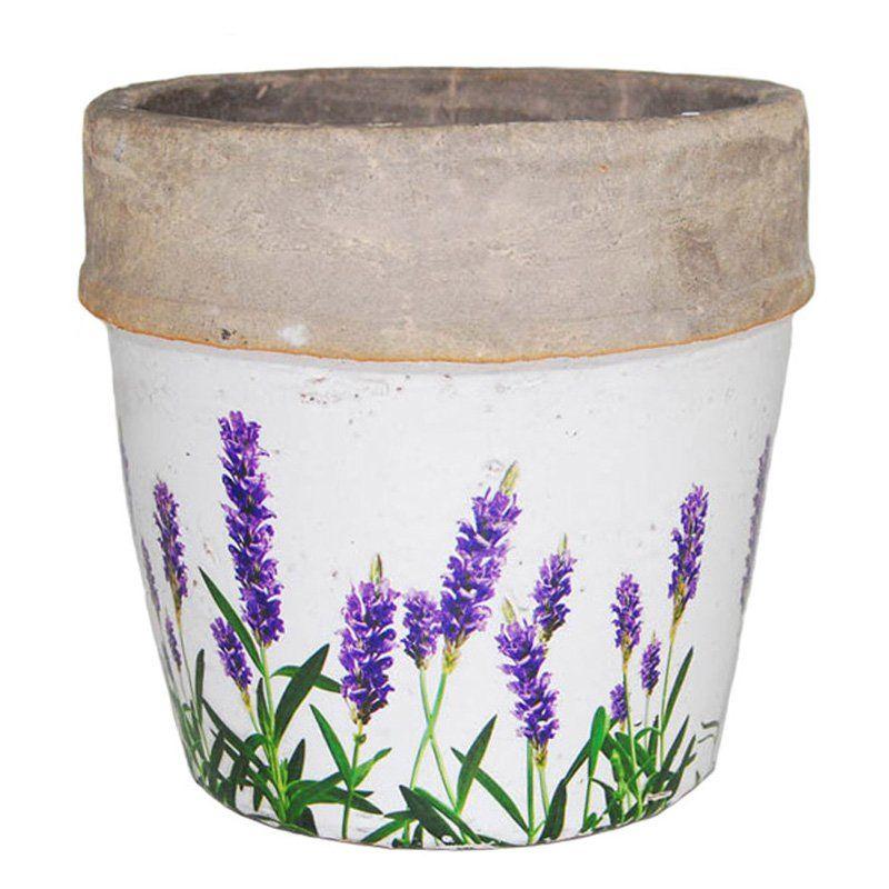 Have To Have It 100 Essentials Lavender Flower Pot 32 99 Hayneedle Com Flower Pots Large Flower Pots Small Flower Pots
