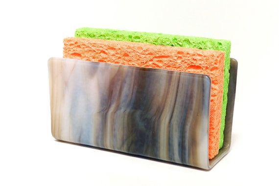 Sponge Holder Kitchen Sponge Holder Shades Of Brown And White Interesting Kitchen Sponge Decorating Design