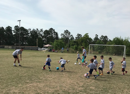 365 SOCCER ACADEMY offers camps for children ages 37 as