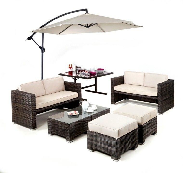 Muebles de terraza ratan good muebles de terraza baratos for Fundas muebles terraza