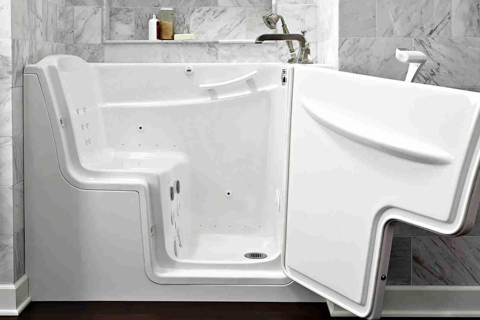 Senior Bathtubs With Doors With Images Walk In Bathtub Walk
