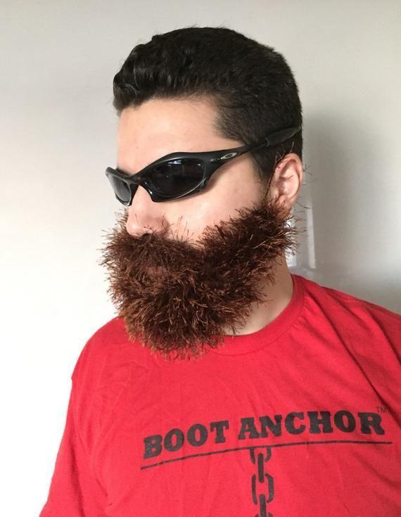 Handmade Crochet Beard Only dettached beard fuzzy Beard choose any color you like blonde beard#hair #love #style #beautiful #Makeup #SkinCare #Nails #beauty #eyemakeup #style #eyes #model #MakeupMafia #NaturalBeauty #OrganicBeauty #crochetedbeards