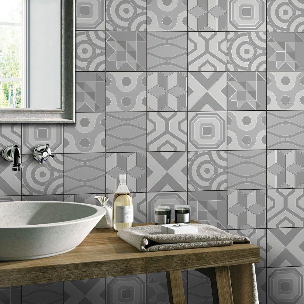 1 Roll Self Adhesive Tile Art Wall Decal Sticker DIY wall