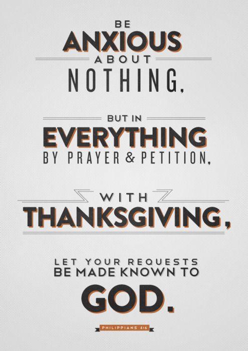 Philippians 4:6❤