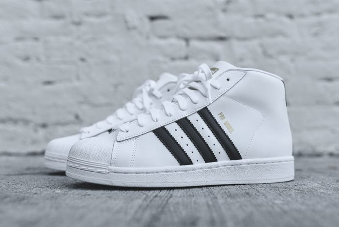 ADIDAS ORIGINALS PRO MODEL OG (WHITE/BLACK) - Sneaker Freaker