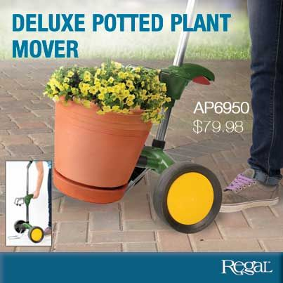 Deluxe Potted Plant Mover From Regal Gifts Save Your Back And Move Pots With Ease Whether They Are Concrete Cast Iron Or Simply Full Of Soil Plants