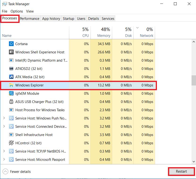 Problem fixed Windows 10 Taskbar not working properly