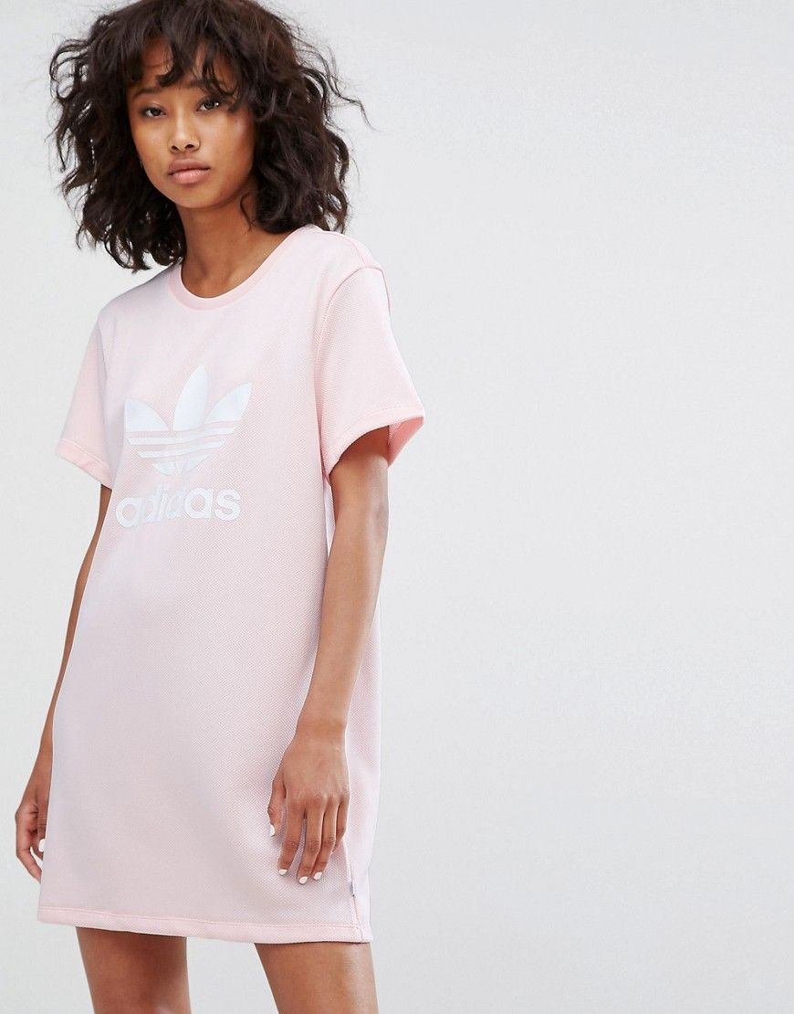 adidas kleid rosa