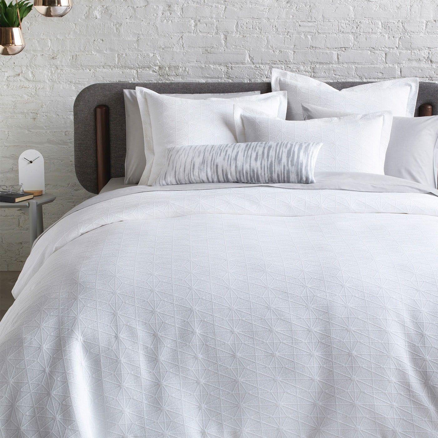 Himmeli White Matelasse Duvet Cover Duvet Covers Bedding