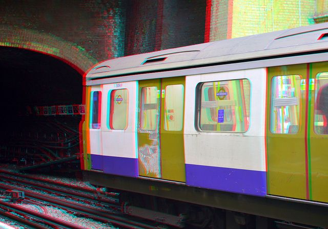 Tube London 3D | Flickr - Photo Sharing!