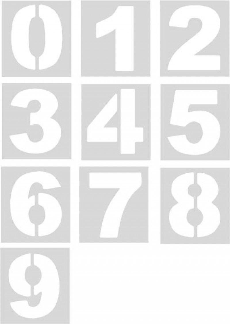 Pack plantillas números (10 números sueltos)  dcf0de7fd4abc