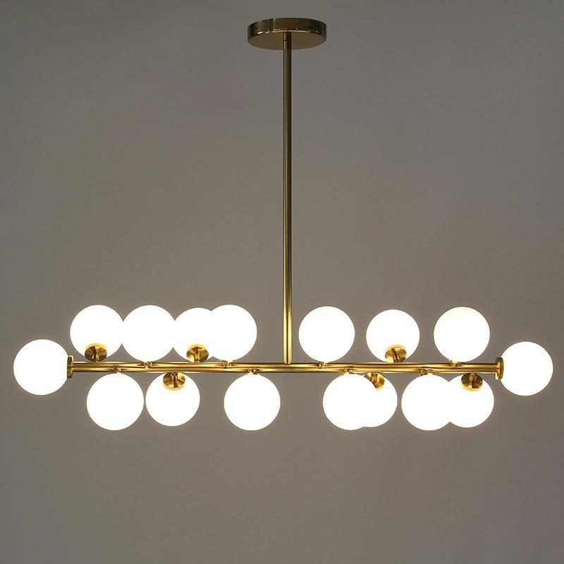 100cm Modern Led Chandelier for Living Room Dining Room