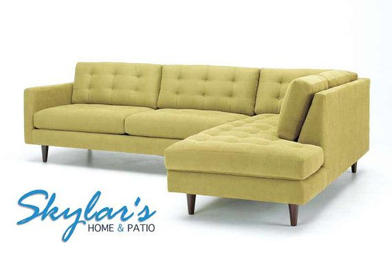 Mid Century Modern Sectional Made In Usa By Skylarshome On Etsy 1899 00 Mid Century Modern Sectional Sofa Modern Sofa Sectional Mid Century Modern Sectional