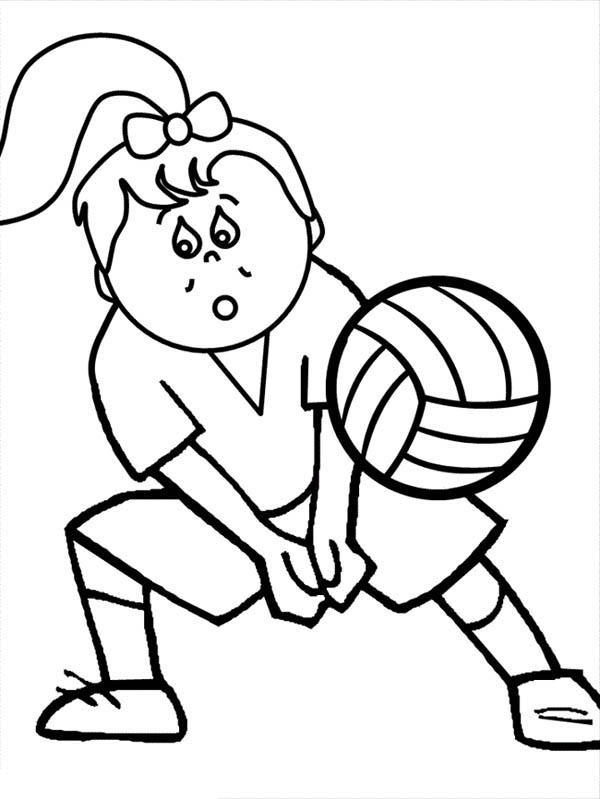 The Girl Is Digging The Ball Coloring Page Download Print Online Coloring Pages For Free Color Nimbu Coloring Pages Online Coloring Pages Online Coloring