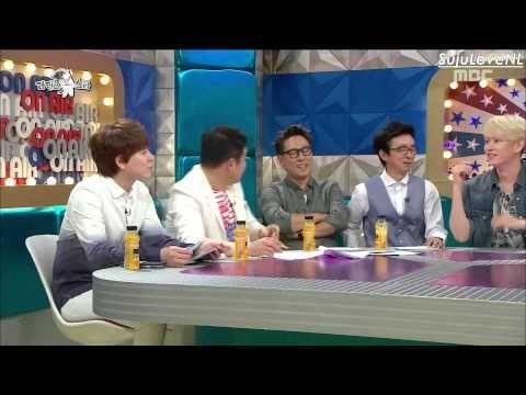 ENG SUB] 150715 Radio Star Cut - Leeteuk & Heechul's Fight