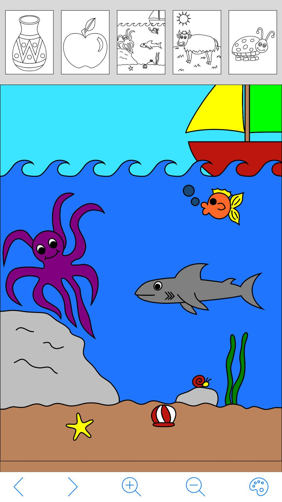 My Coloring Book Free #Education#Games#ios#Family