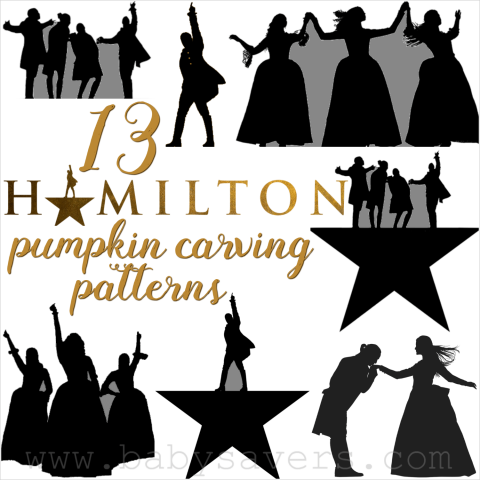 13 Hamilton Pumpkin Carving Patterns and Printable Stencils ...