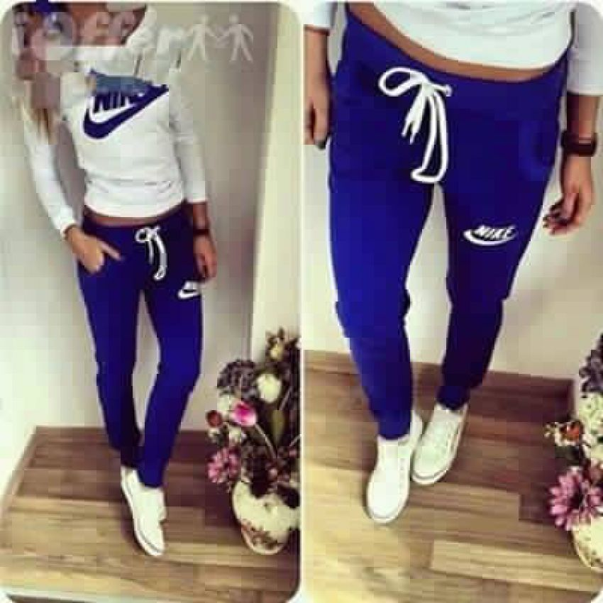 cf1b7fe647764 survetement Nike bleu Tenue De Sport Femme, Tenue Femme, Survetement Adidas  Femme, Jogging
