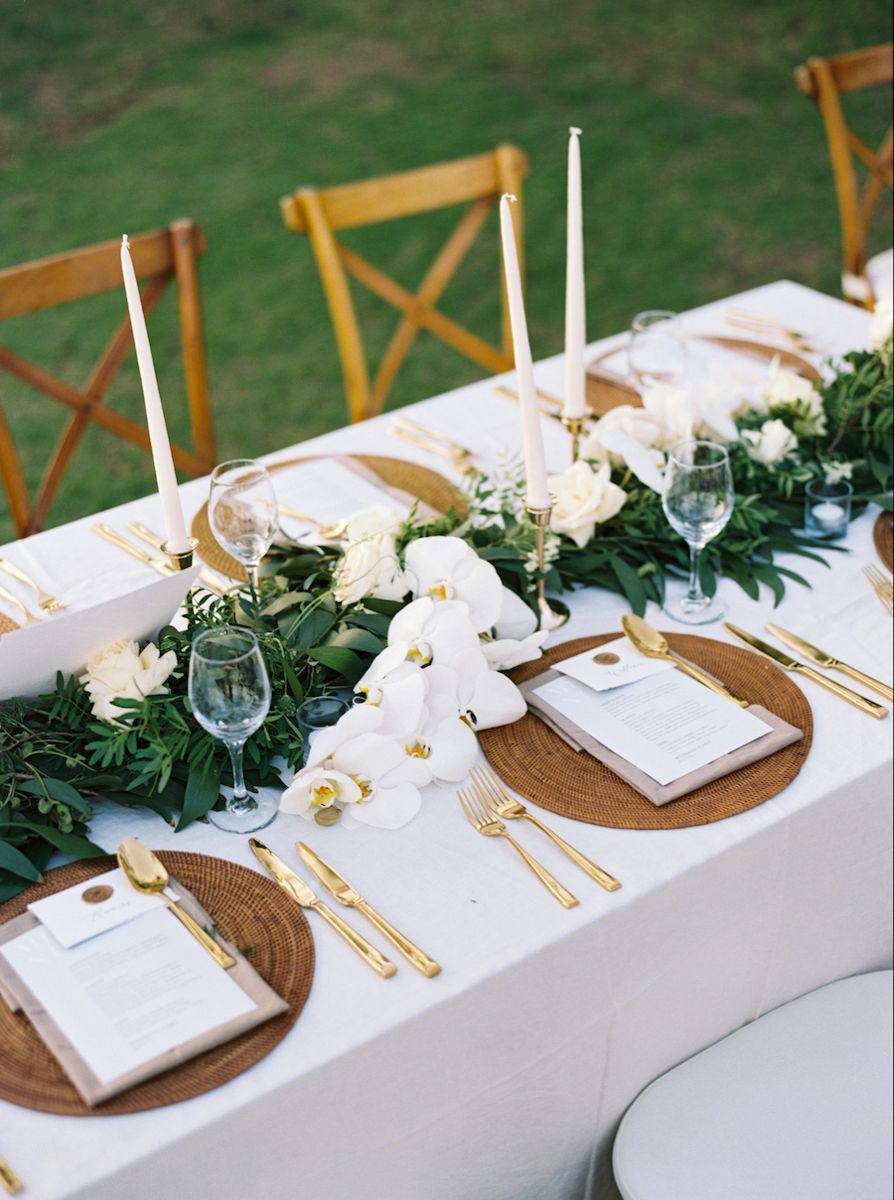 Tropical White and Green Bali Wedding from Taylor & Porter