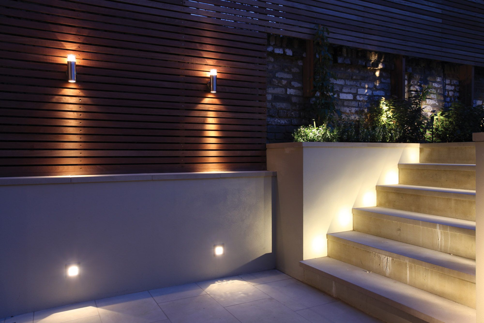 50 Inspirational Garden Lighting Ideas Fence lighting