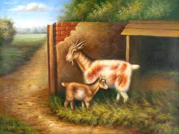 Animaux en peintures