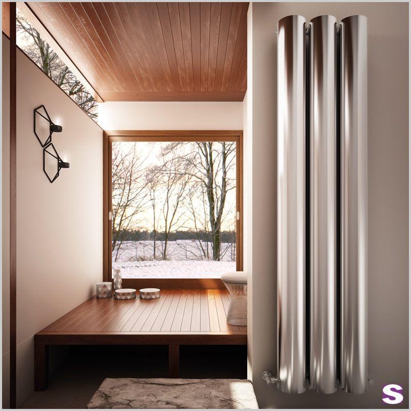 Besonderer Design Heizkörper Moreno aus Aluminium von SEBASTIAN eK