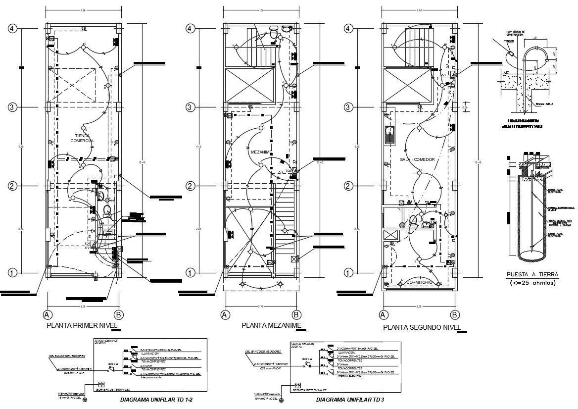 Architecture Design Image By Cadbull Autocad File